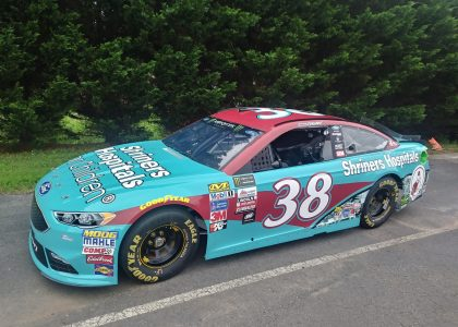 Shriners Hospitals for Children races into their 95th anniversary celebration with NASCAR driver David Ragan