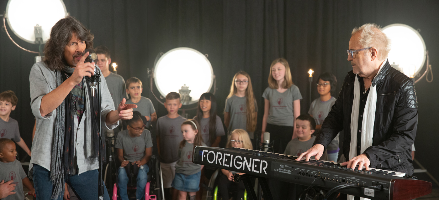 Foreigner's New Music Video | Shriners Hospitals for Children